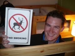Can you smoke if you aren't a deer?